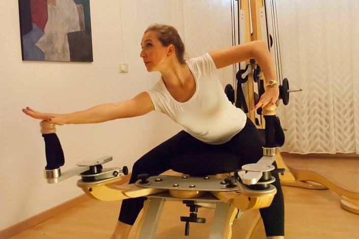 Gyrotonic im Yoga und Pilates Studio Anne Faulhauer