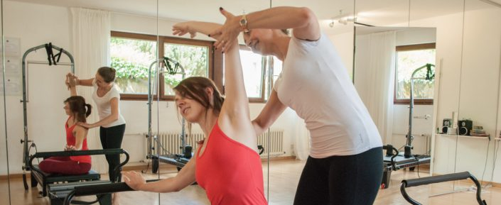 Pilates Personaltraining in Trier mit Anne Faulhauer.